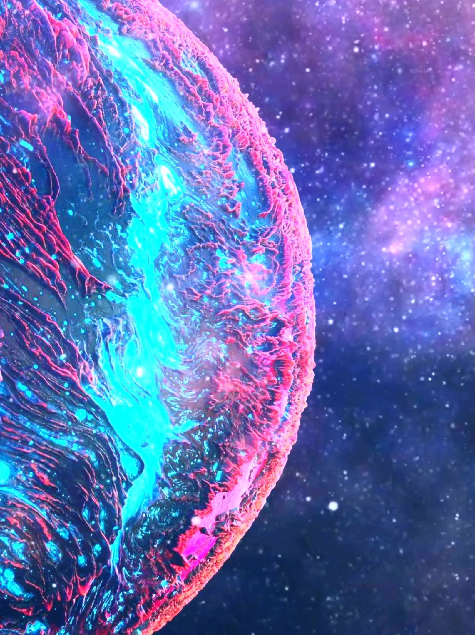Samsung Wallpaper Videos Hintergrundbild Tapete Planet Galaxy