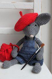 Knuffel Muis Haken Pinterest Crochet Animals Crochet En Amigurumi