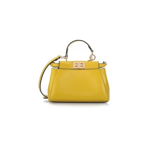 54684e71e74f ... wallet on 57aa8 31d9a release date fendi micro peekaboo crossbody in  yellow lamb 17.150 ars liked on f59a2 ac5bf ...