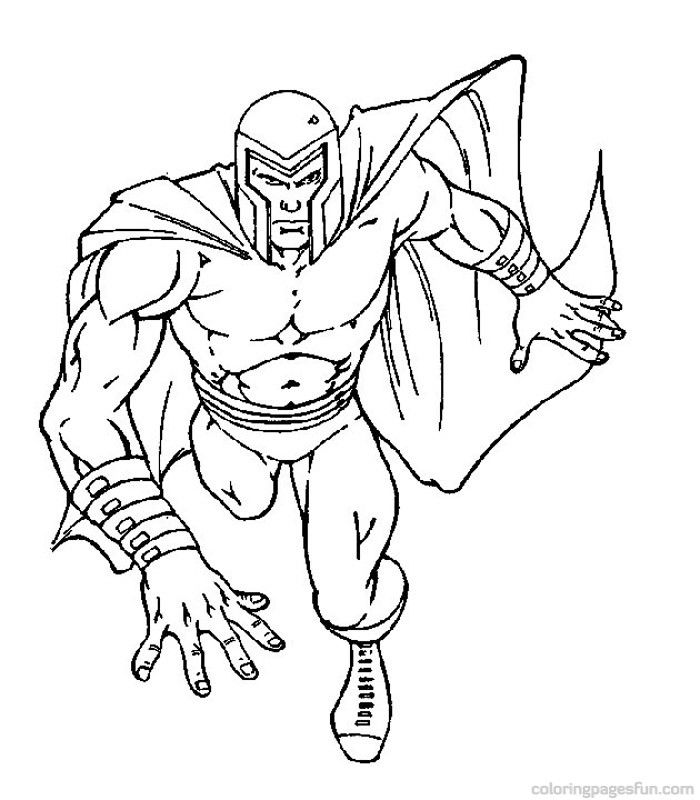 X Men Coloring Pages COLORING PAGES FOR FREE Pinterest