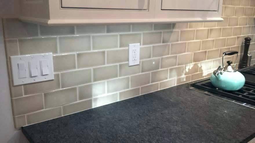 Image Result For Dove Gray Crackle Glass Crackle Tile Backsplash