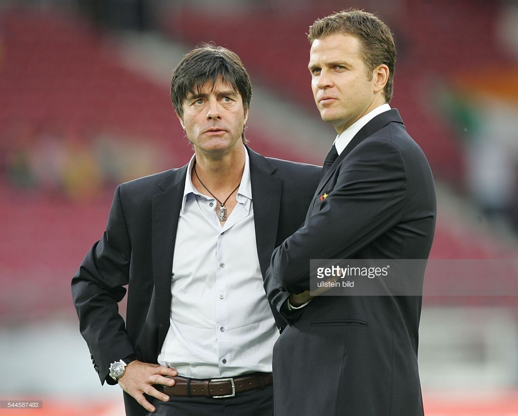 Joachim Low And Oliver Bierhoff Football Coach Suit Jacket Football