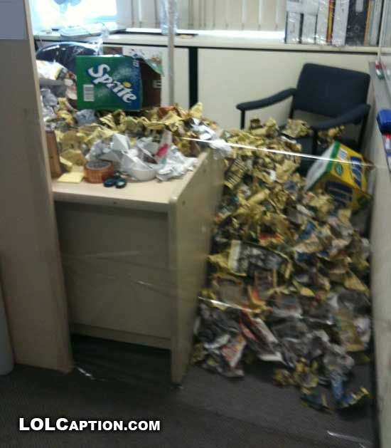 Nice I Guess It Might Be Just About Time For Me To Clean My Office Space.
