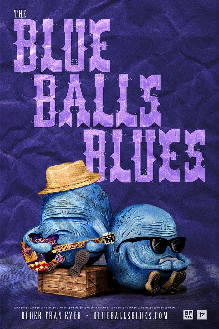 Le Blue Balls Blues : le blues des Testicules par Rusty et Vern