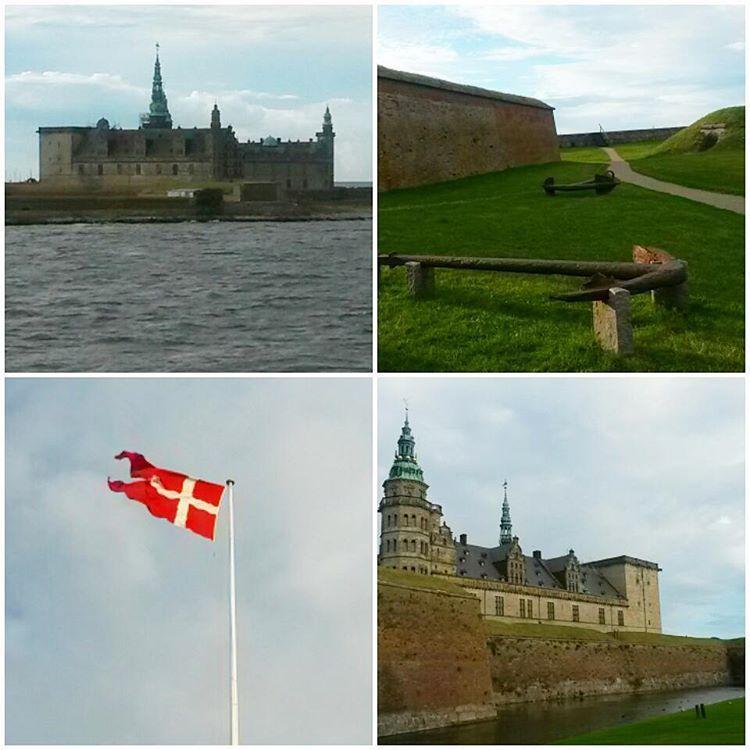 """""""Kronborg castle  in Helsingør #travel #adventure #denmark #helsingør #sea #seaside #castle #kronborg"""""""