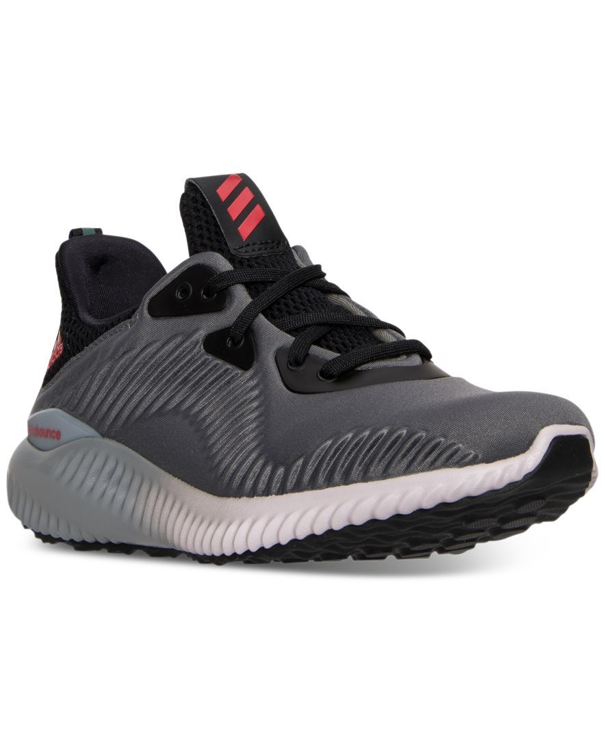 adidas Boys\u0027 Alpha Bounce Running Sneakers from Finish Line