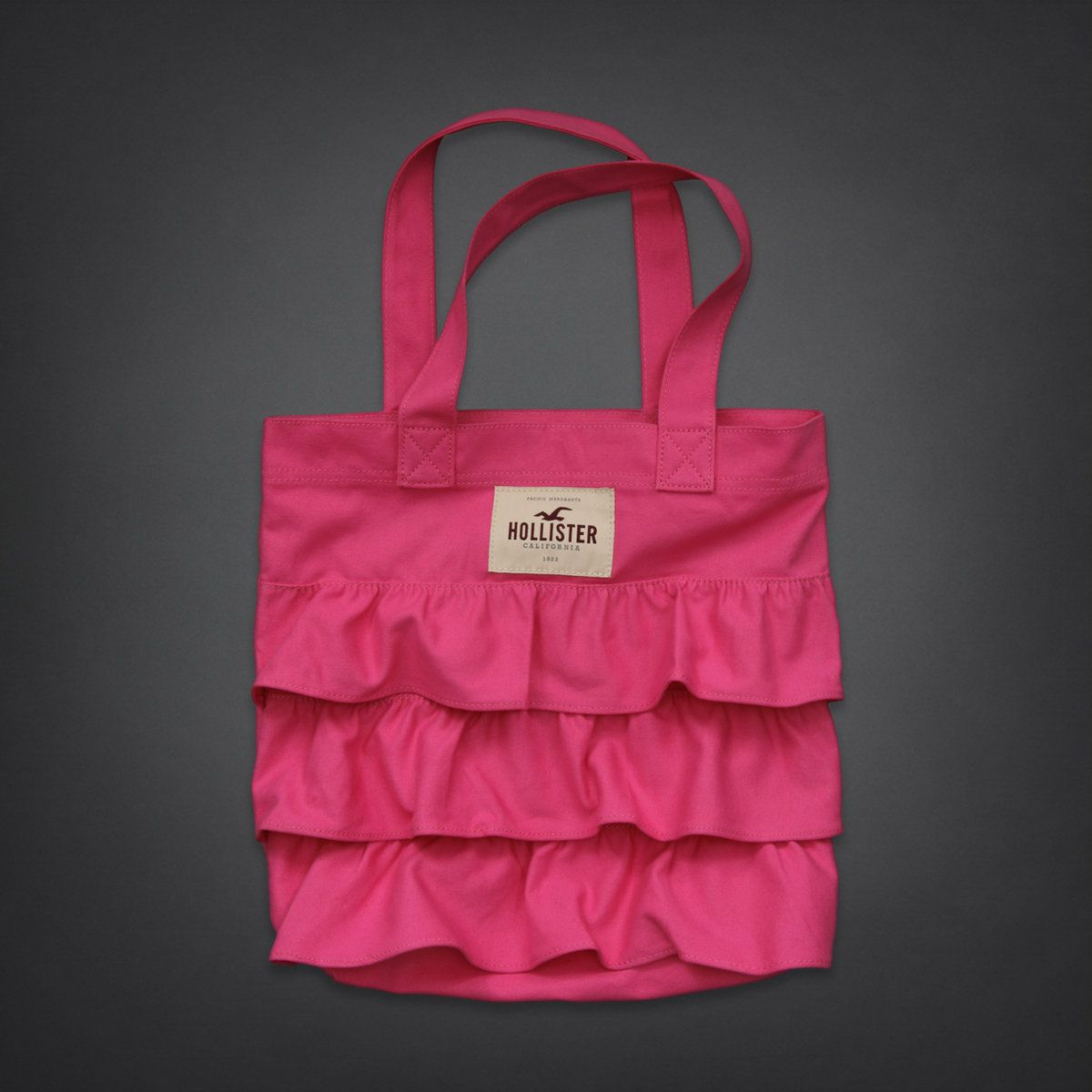 So Cal Hollister Tote Bag I Love The Ruffles