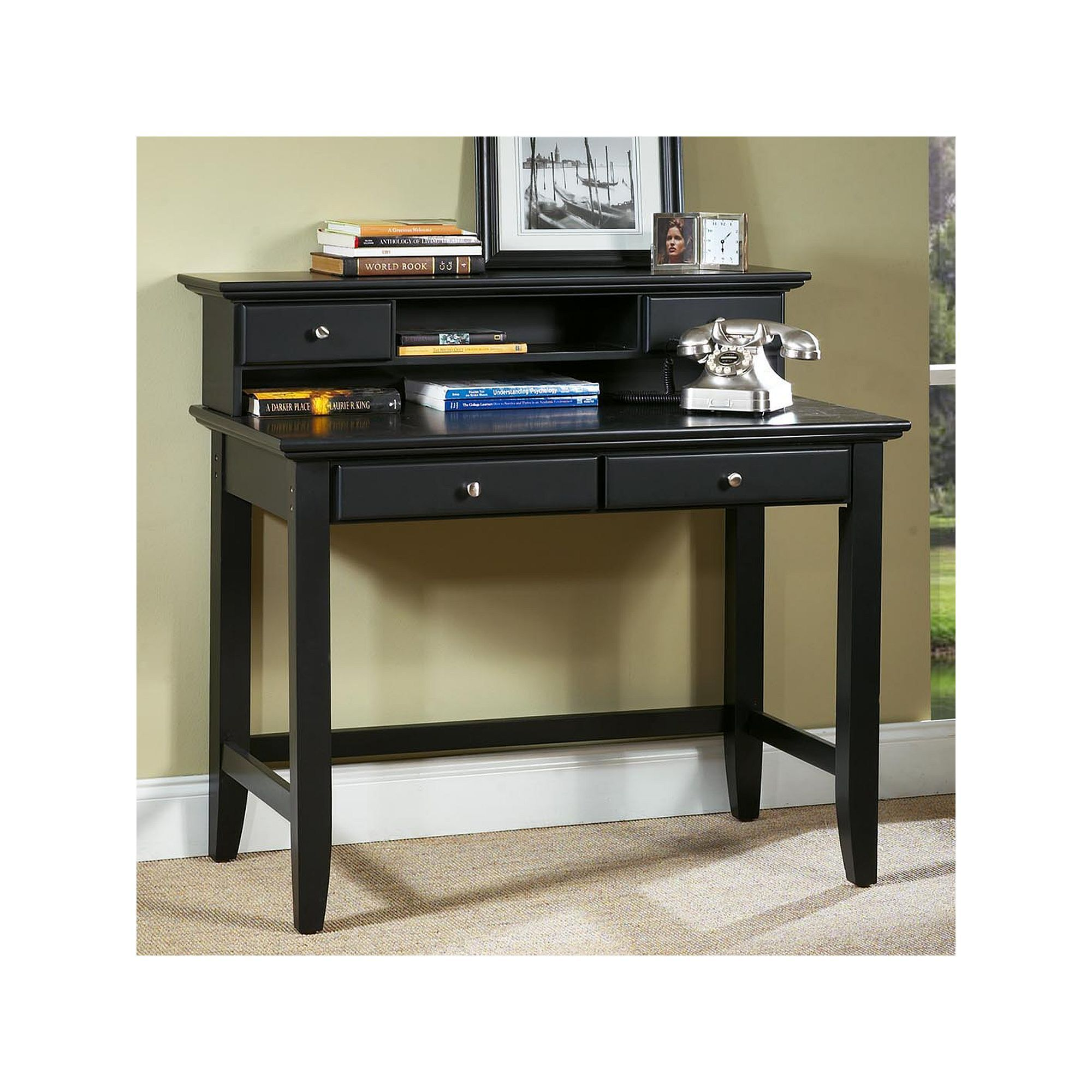 . Home Styles Bedford Student Desk   Hutch   Products   Desk hutch