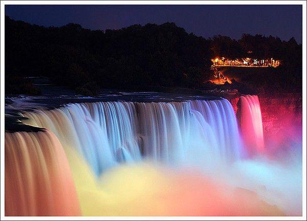 Air Terjun Keindahan Ciptaan Yang Maha Esa Niagara Falls Air Terjun
