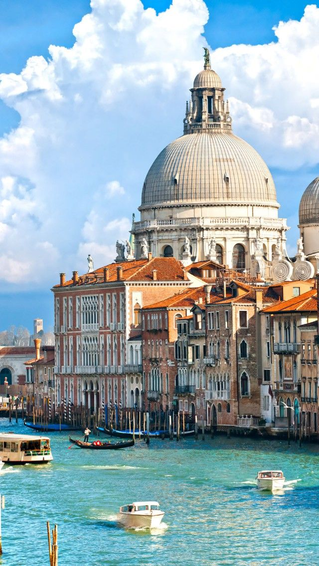 Venice Grand Canel, Italy iPhone 5 wallpapers, backgrounds