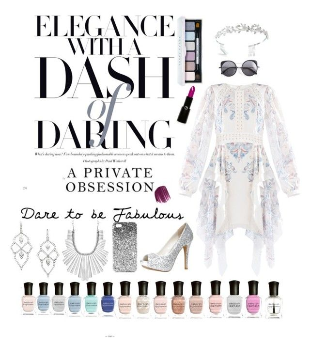 """Elegantly daring"" by melliflusous ❤ liked on Polyvore featuring BCBGMAXAZRIA, Stephen Webster, Lucky Brand, ALDO, Topshop, Wood Wood, Bling Jewelry, Bobbi Brown Cosmetics, Smashbox and Giorgio Armani"