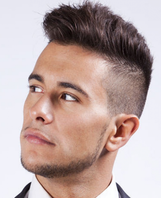 Mens short punk hairstyles modern punk haircut for men with very style notes on the mens hair trend where the hair is cut aggressively short on the sides and back while the top is left long and disconnected winobraniefo Choice Image