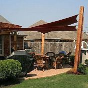 It S Summer Time To Think About Adding Shade In Your Backyard Whether You Re Considering Installing A Sha In 2020 Patio Shade Outdoor Covered Patio Shade Sails Patio