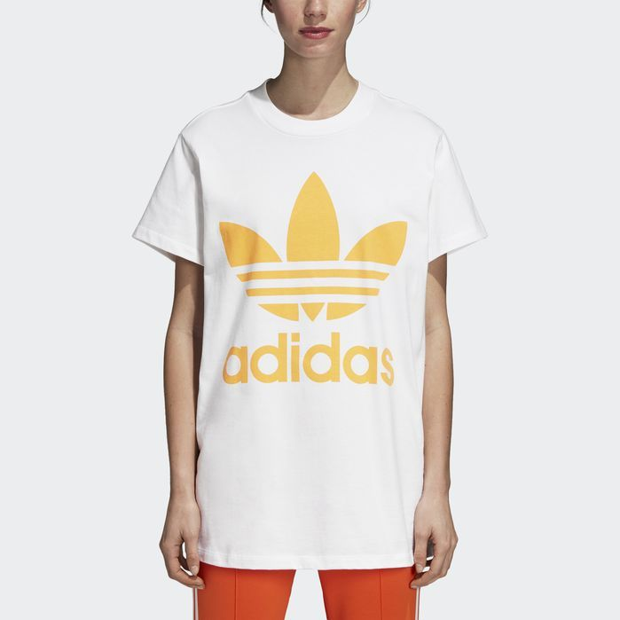 t-shirt adidas femmes large