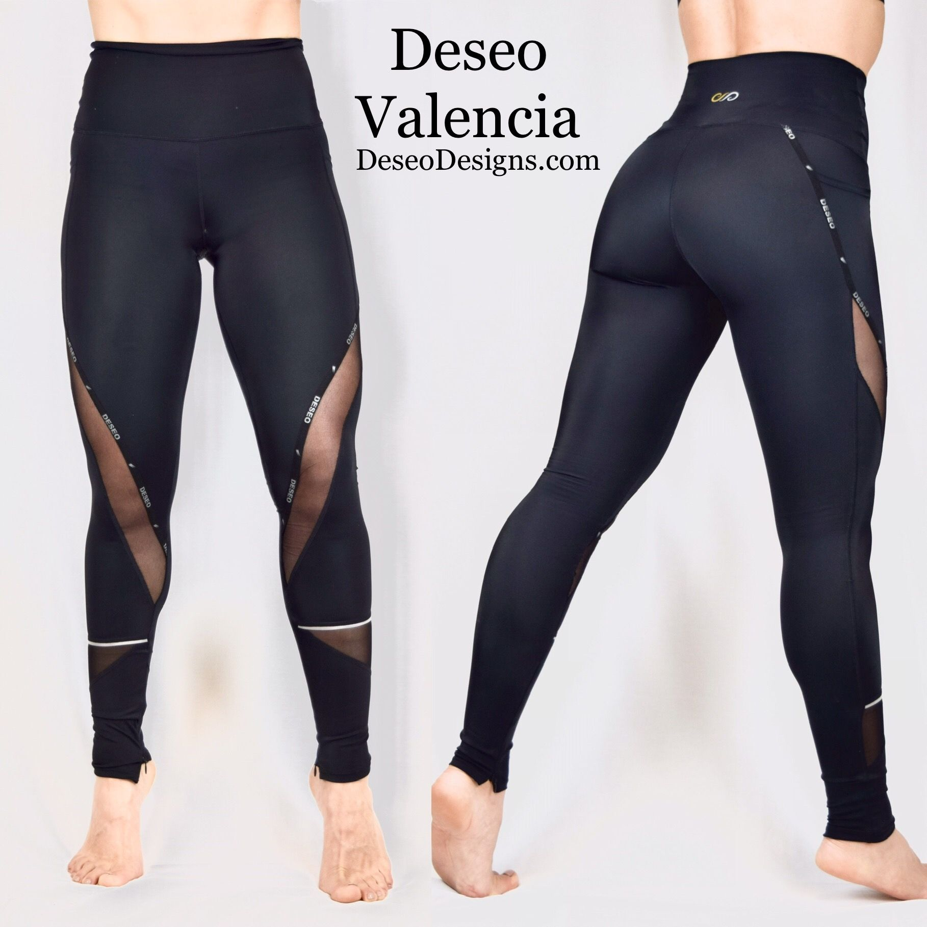 Deseo activewear! Mesh,side pockets, ankle zippers, special fit technology! Slim look , long legs ef...