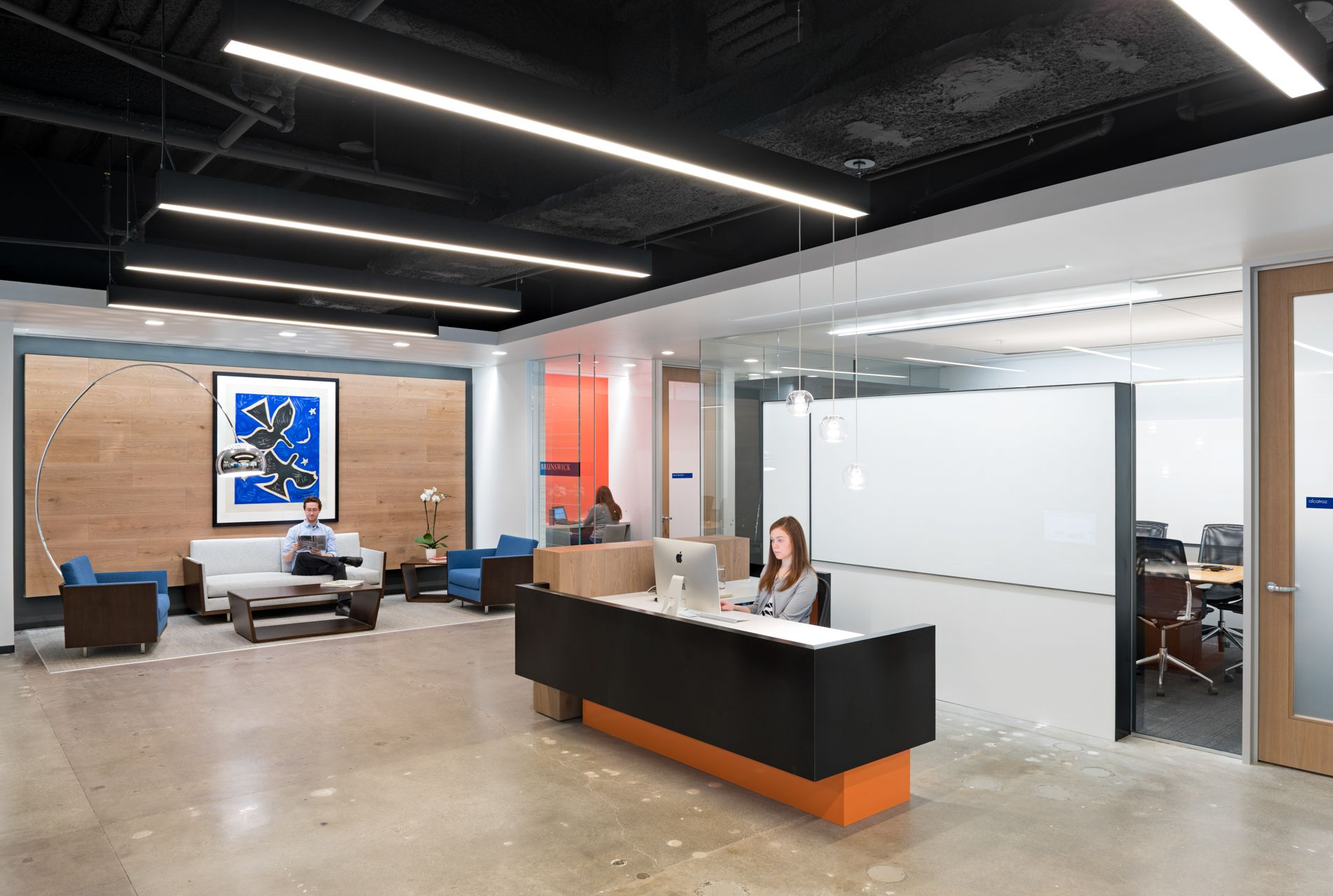 FENNIE+MEHL Architects | Office Interiors | The Brunswick Group ...