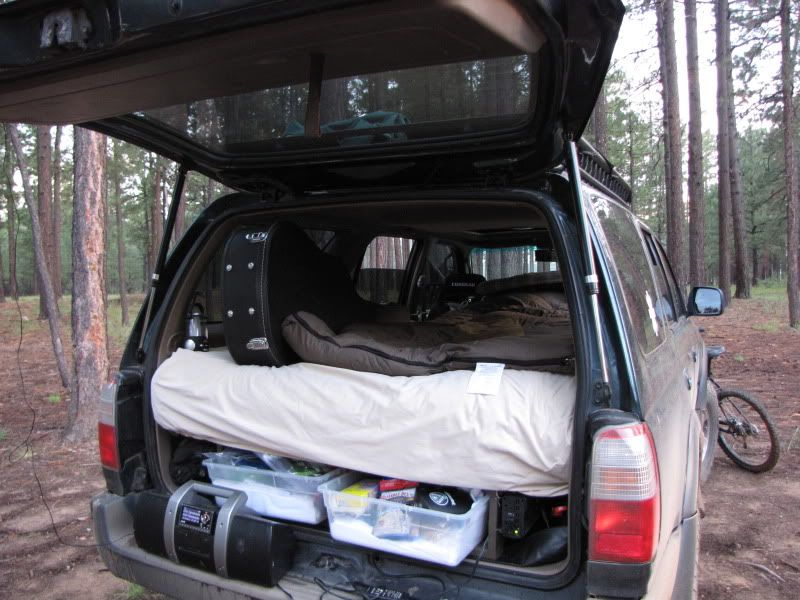 4runner Camping Conversion Modification