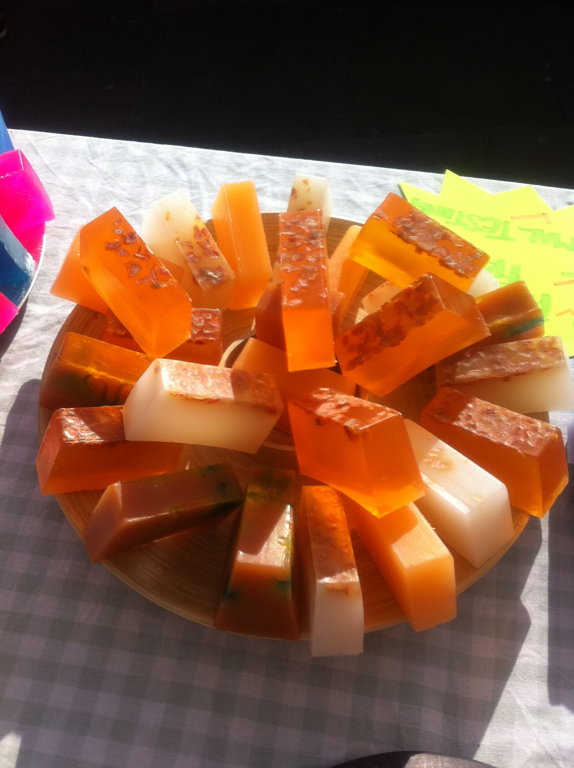 Carrot Blitz and Carrot and Coconut soaps - Good for you!!