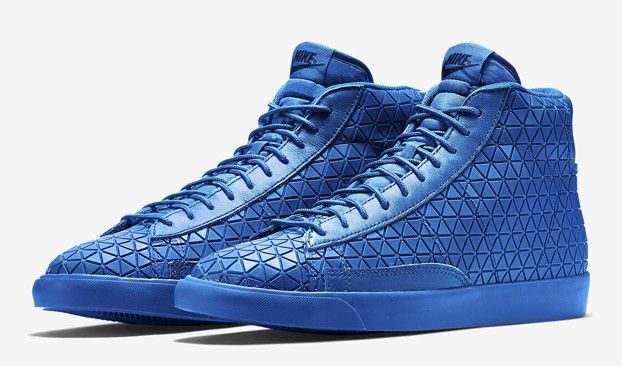 designer fashion aee5e 39331 ... Nike Blazer Mid Metric ROYAL BLUE Release Date ...