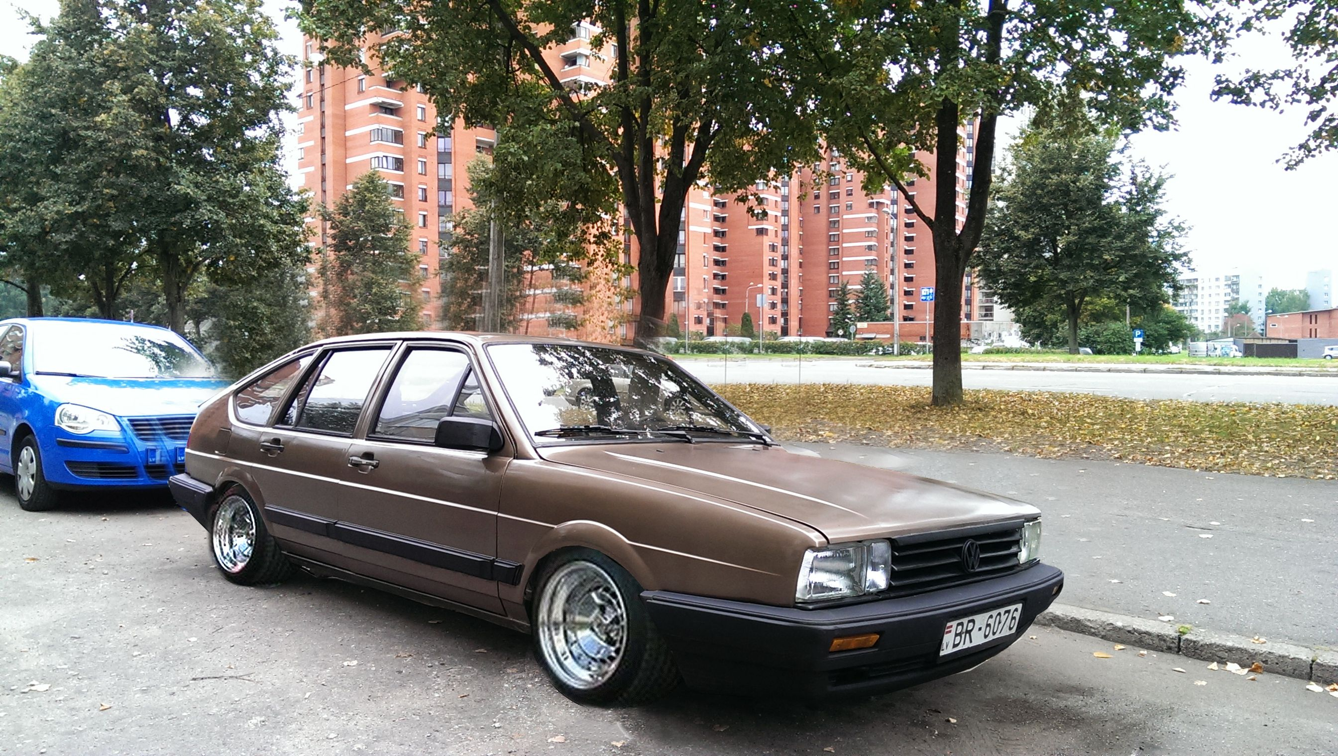 1986 Passat B2 Hatchback. Photoshop concept design.