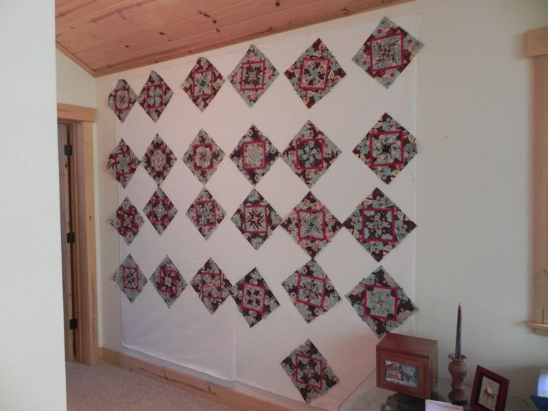 Retractable Quilt Design Wall photo | design wall | Pinterest ... : design wall for quilting - Adamdwight.com