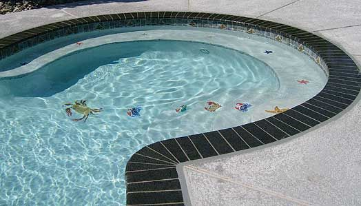 Pool Tile And Coping Ideas pool tile and coping ideas pool pinterest ideas pool tiles and tile Malaga Ganite Pool Coping