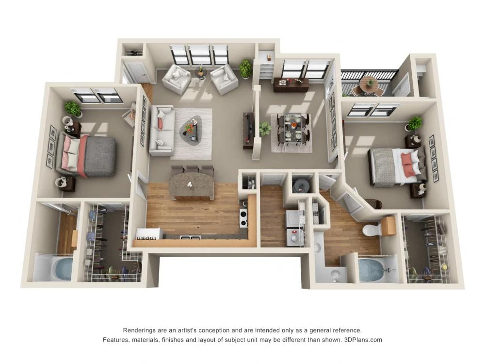 Floor Plans Of The Verandah At Grandview Hills In Austin Tx Apartment Floor Plans Floor Plans Floor Plan Design