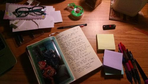 spacepuck:  haven't been journaling much this month