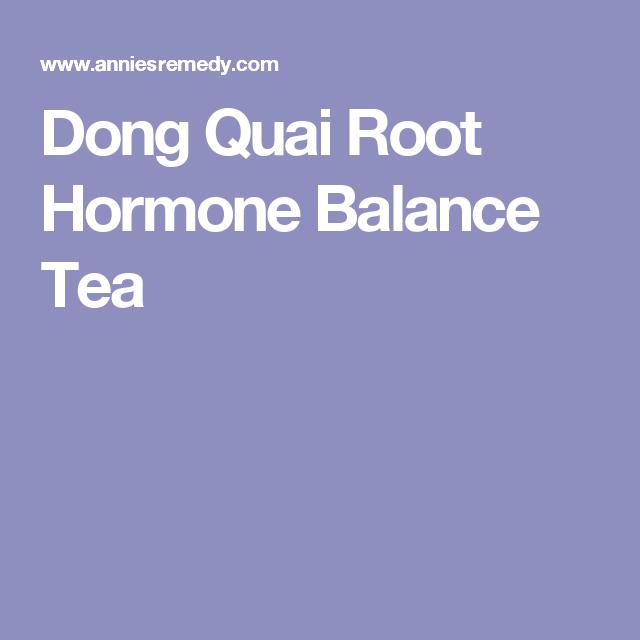 Madison : Herbal tea for hormone balance