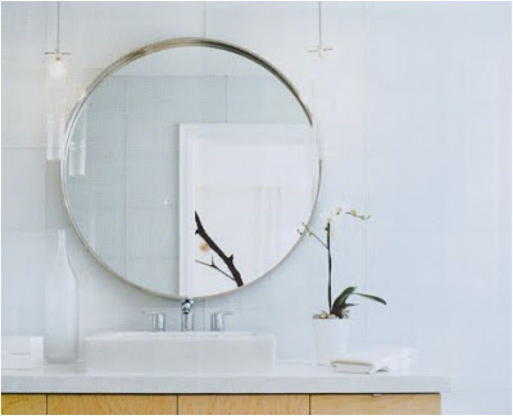 view birch with larger branch l bathroom mirror modern and shelf mirrors for diy shelves