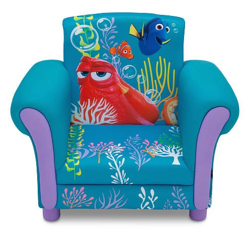 Western Bedroom Tank Toy Box Or: Disney Pixar Finding Dory Upholstered Chair