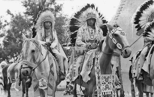 Sarcee boys - circa 1930