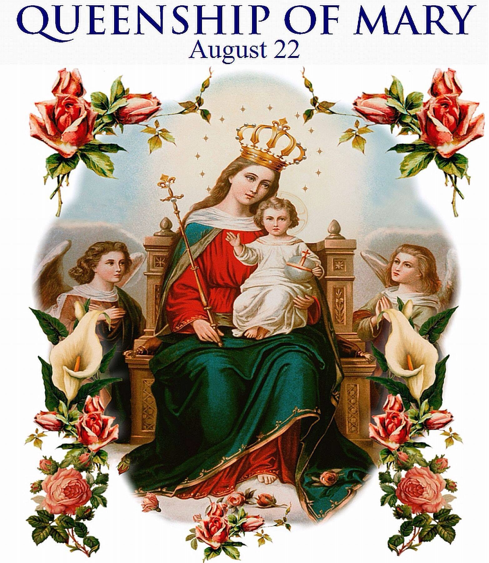 Queenship of mary feast day virgin mary pinterest mary queenship of mary feast day kristyandbryce Choice Image