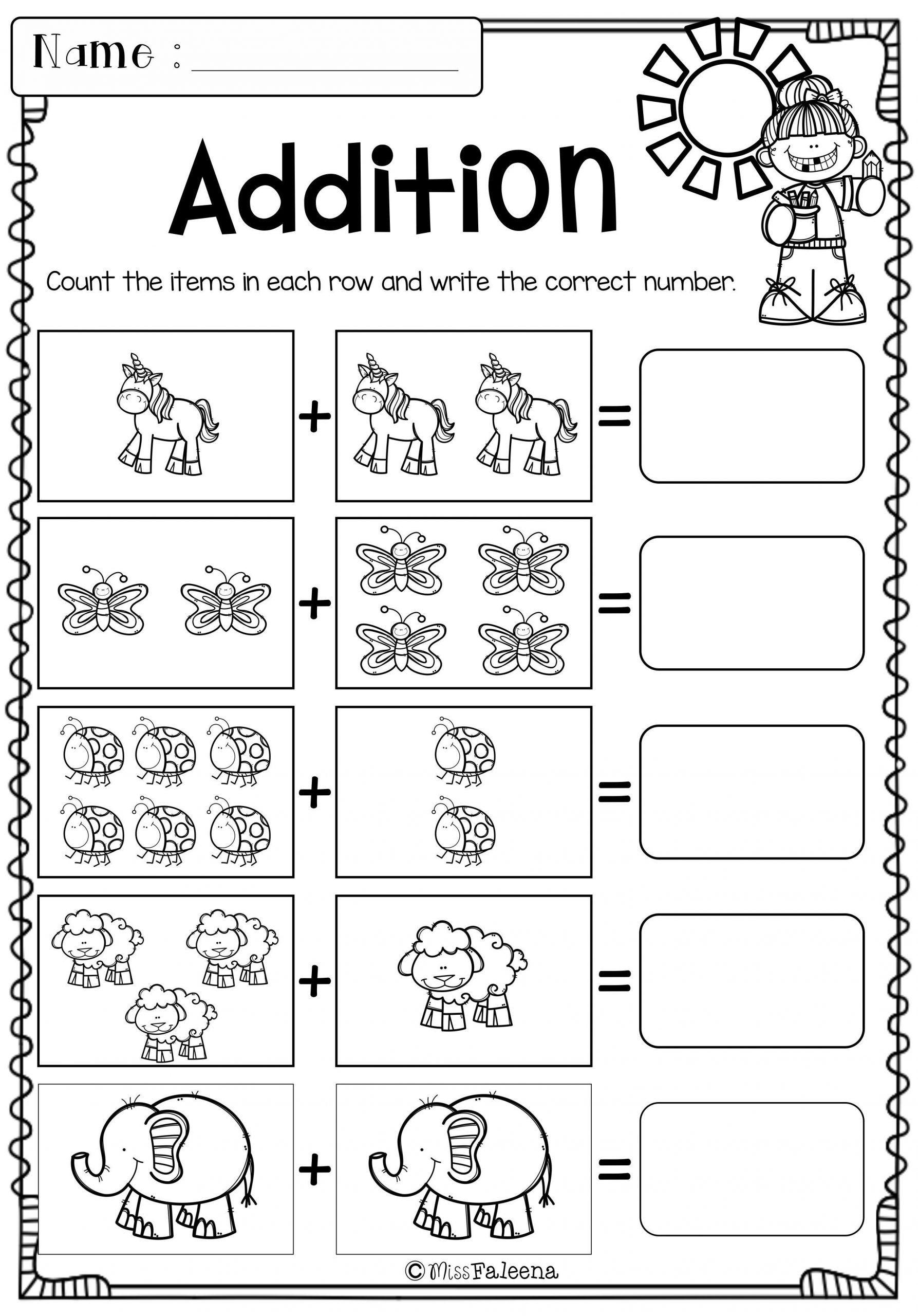Kindergarten Math Worksheets Morning Work Free