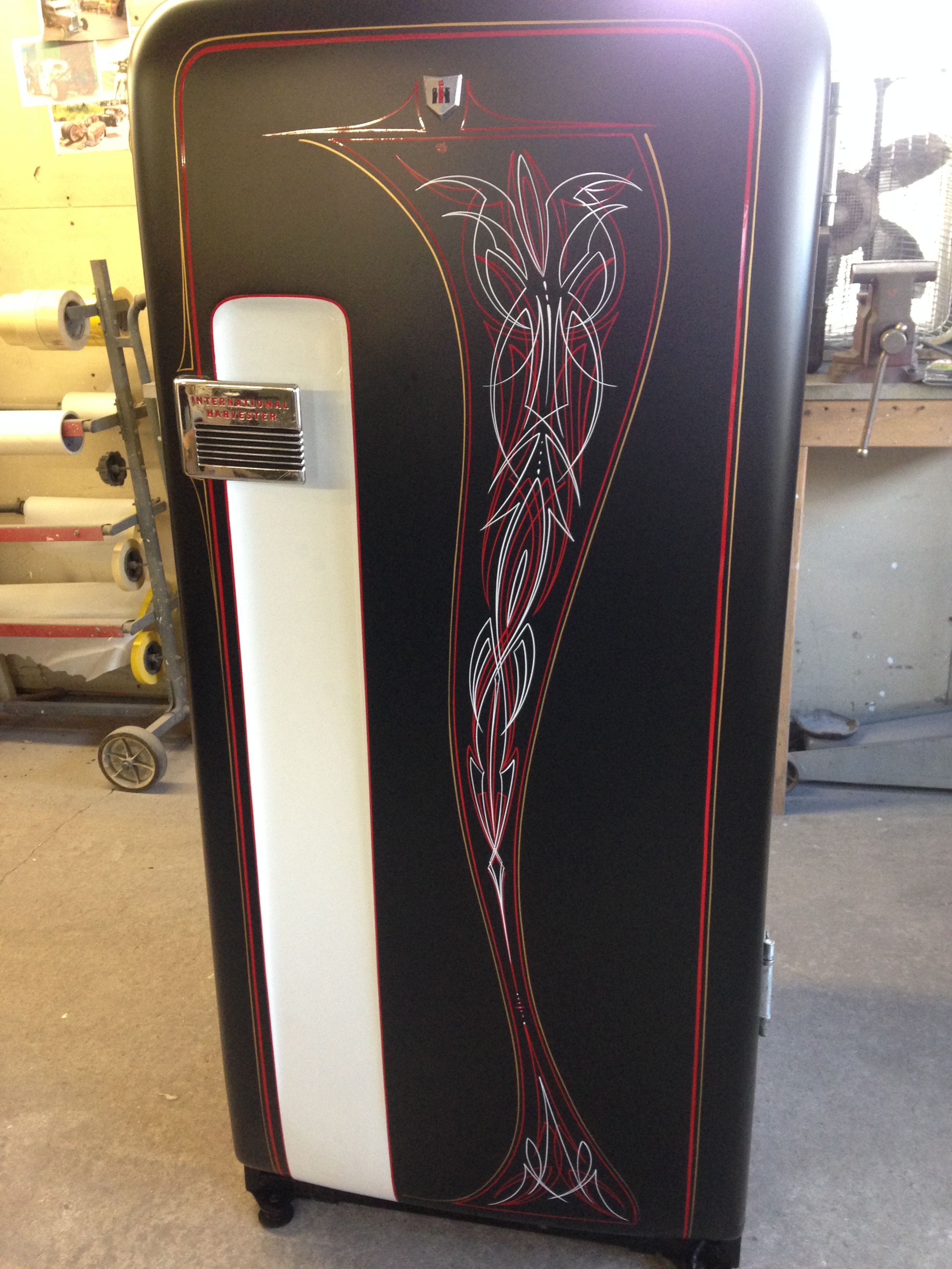 Pin On International Harvester Frig By Todd Fisher Pinstriping