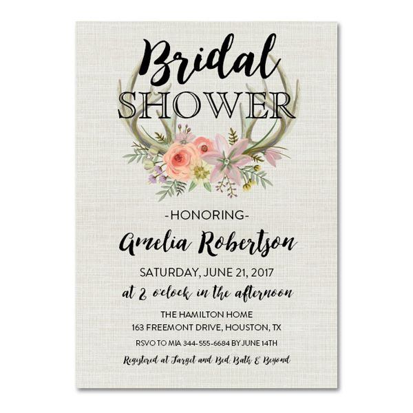 picture relating to Bridal Shower Invitations Free Printable referred to as Free of charge Printable Editable PDF Bridal Shower Invitation Do it yourself