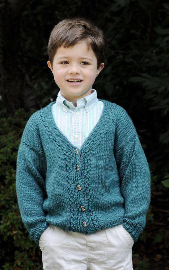 Cardigan In Cascade Cherub Aran Digital Version Free Knitting