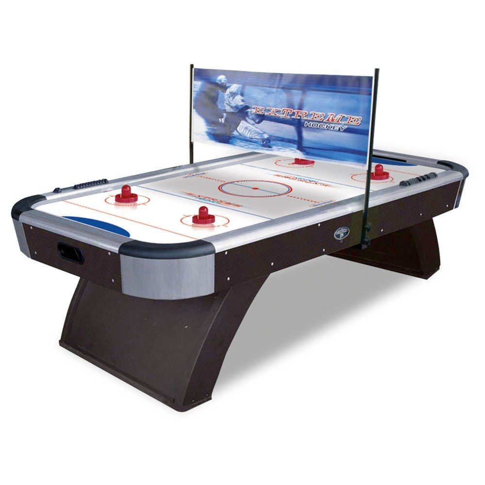 Atomic G04865w Top Shelf 7 1 2 Air Hockey Table Air Hockey Table Hockey Table Air Hockey