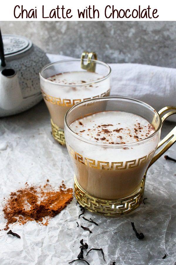 Chocolate Chai Latte Recipe Chai Latte Tea Latte Flavored Tea