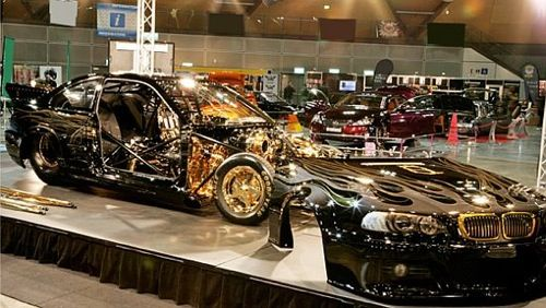 Queen St BMW M3 With Real Gold Plating Powered By A 4