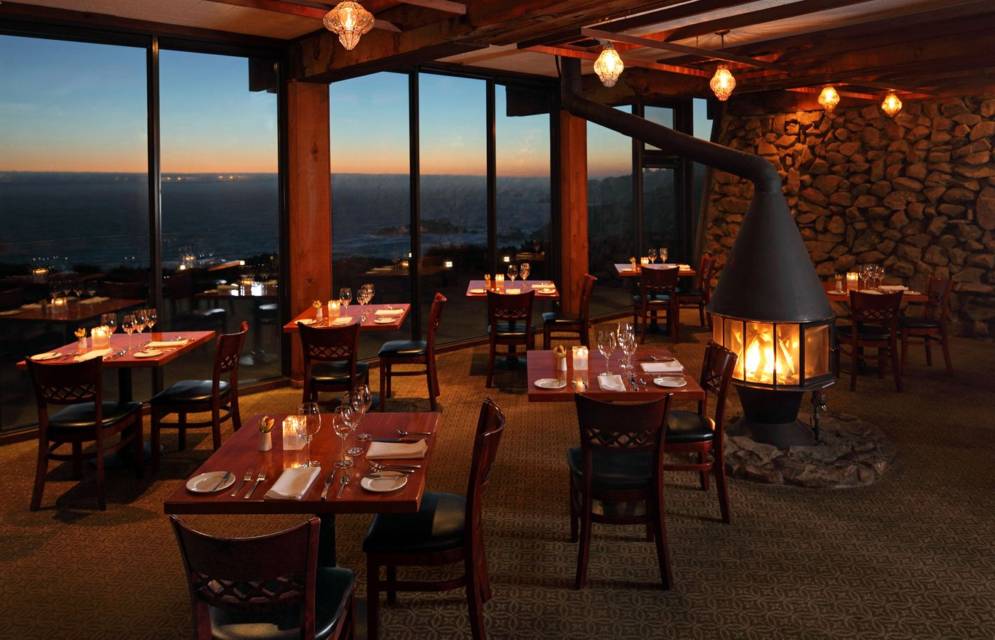 Alexander's at Timber Cove Inn on the Sonoma Coast our