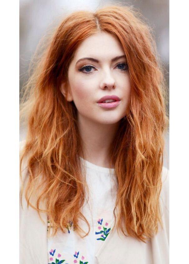 Coloration pointe cheveux rouge