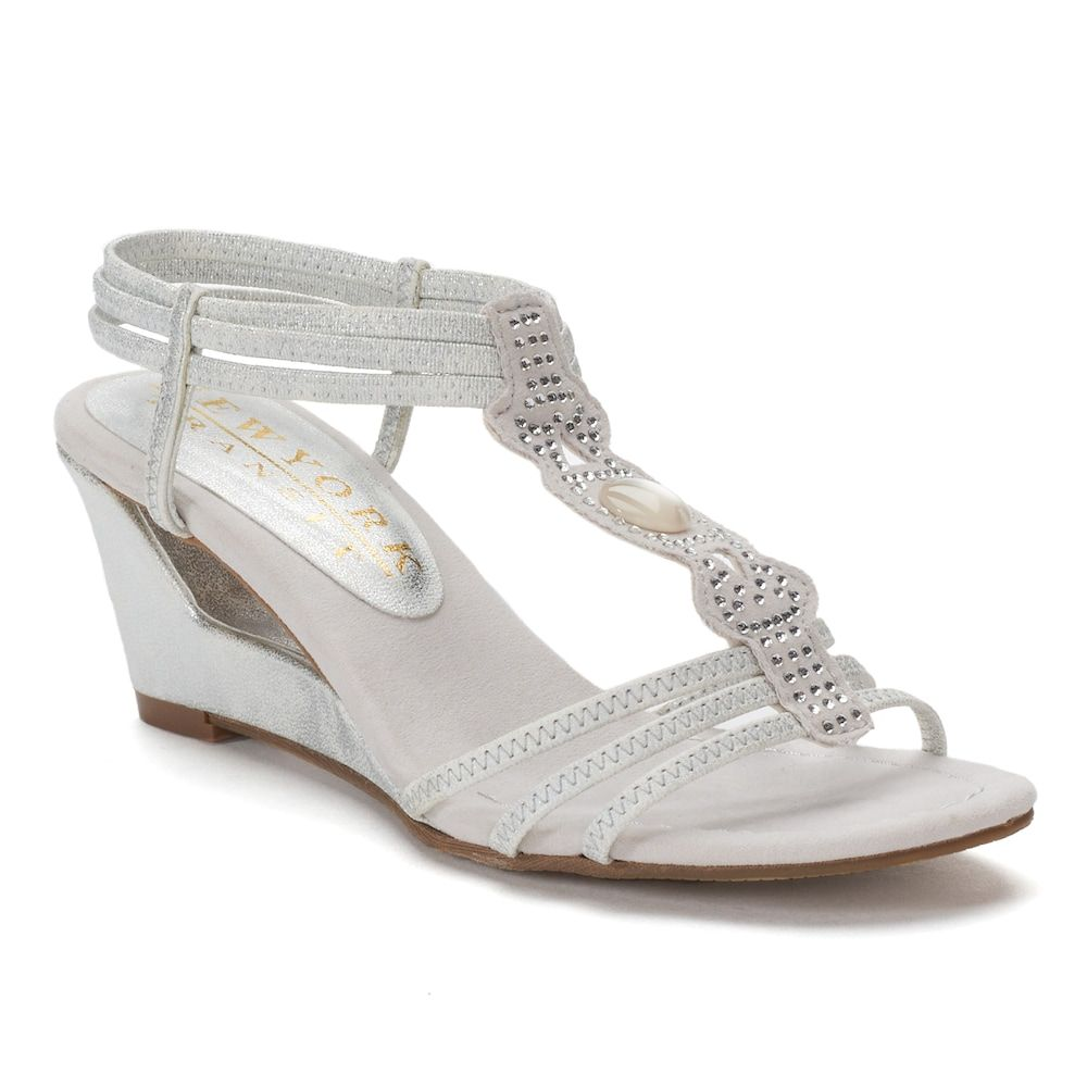 ee0e3327857f New York Transit Fancy Move Women s Wedge Sandals