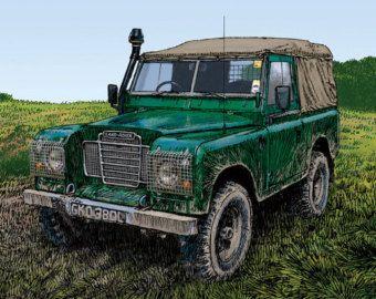 Land Rover Defender Blank Greeting Card