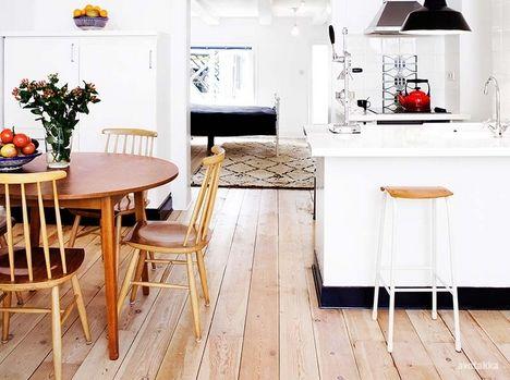 Scandinavian clear style