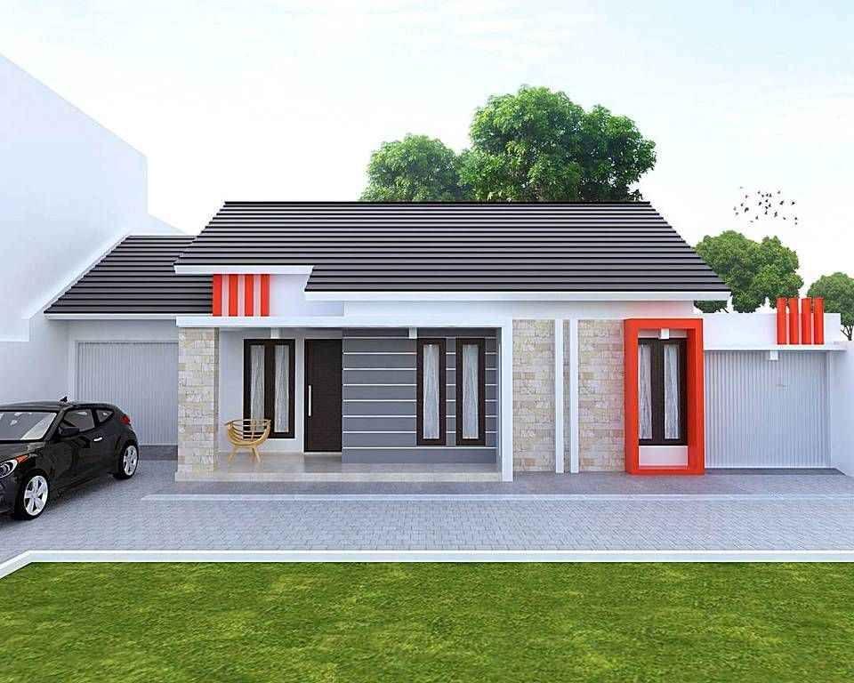 92 Contoh Gambar Desain Rumah Minimalis Type 36 Tampak ...