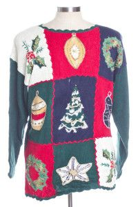 Multicolor Ugly Christmas Pullover 30726