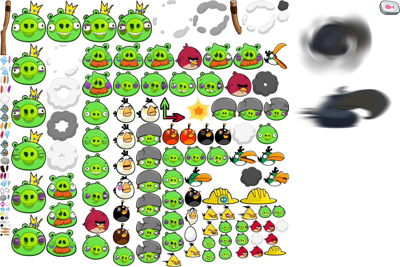 Jogo Desenhos Para Colorir Angry Birds Star Wars No Jogos: Angry Birds - Pre-Chrome Characters