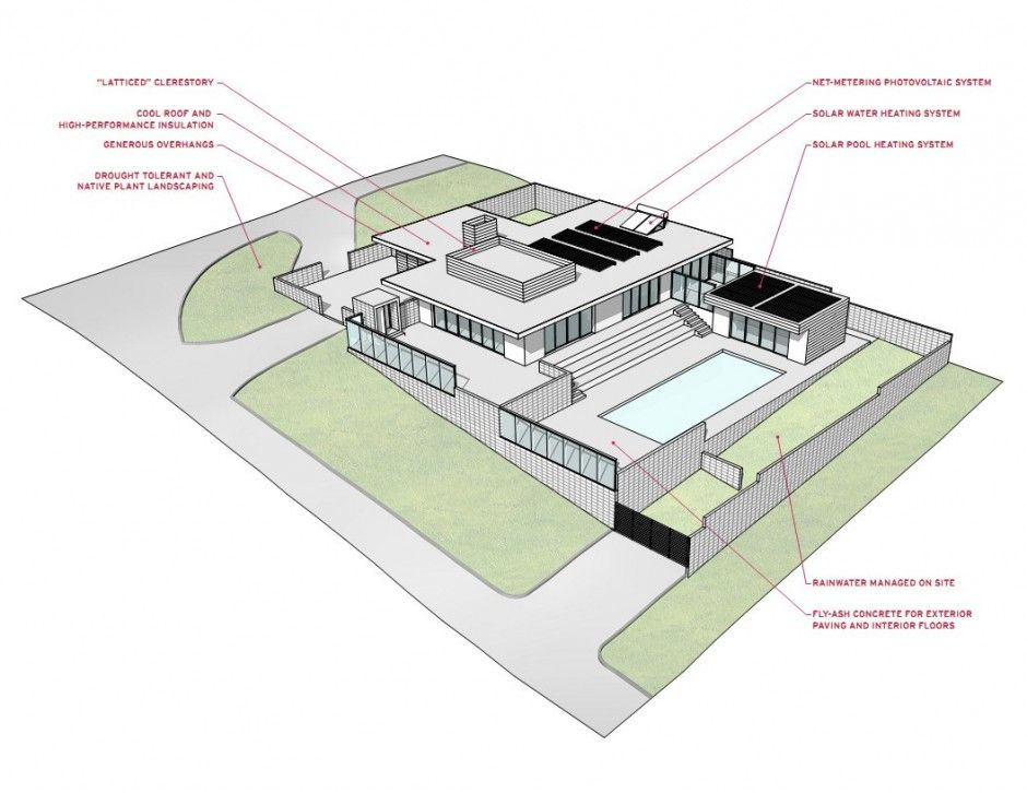 modern home design 3d concept floor plan | floor plans | pinterest
