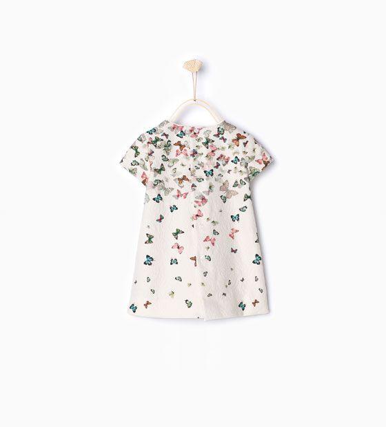 Vestido estampado mariposa-Vestidos y Monos-Bebé niña-Bebé | 3 meses ...